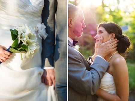simple daisy wedding bouquet