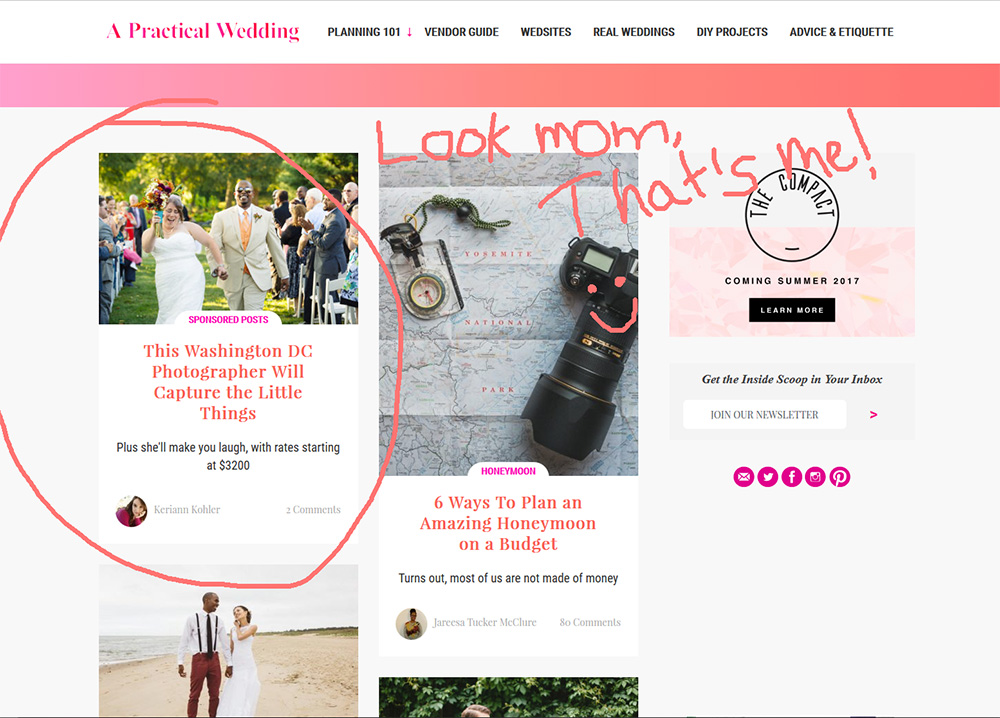 a practical wedding feature