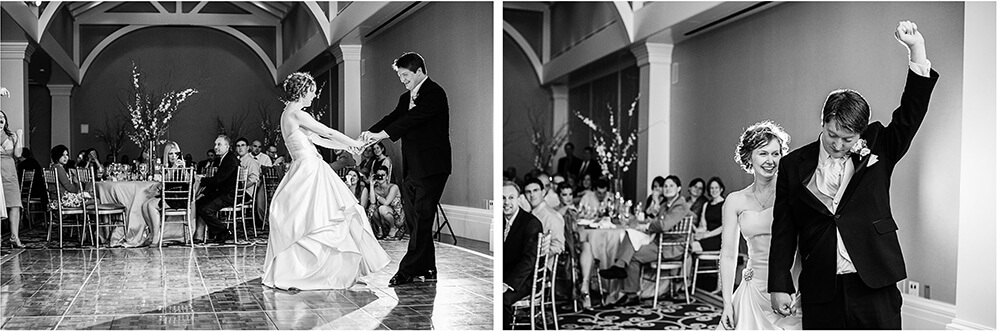 first dance at Decatur House wedding