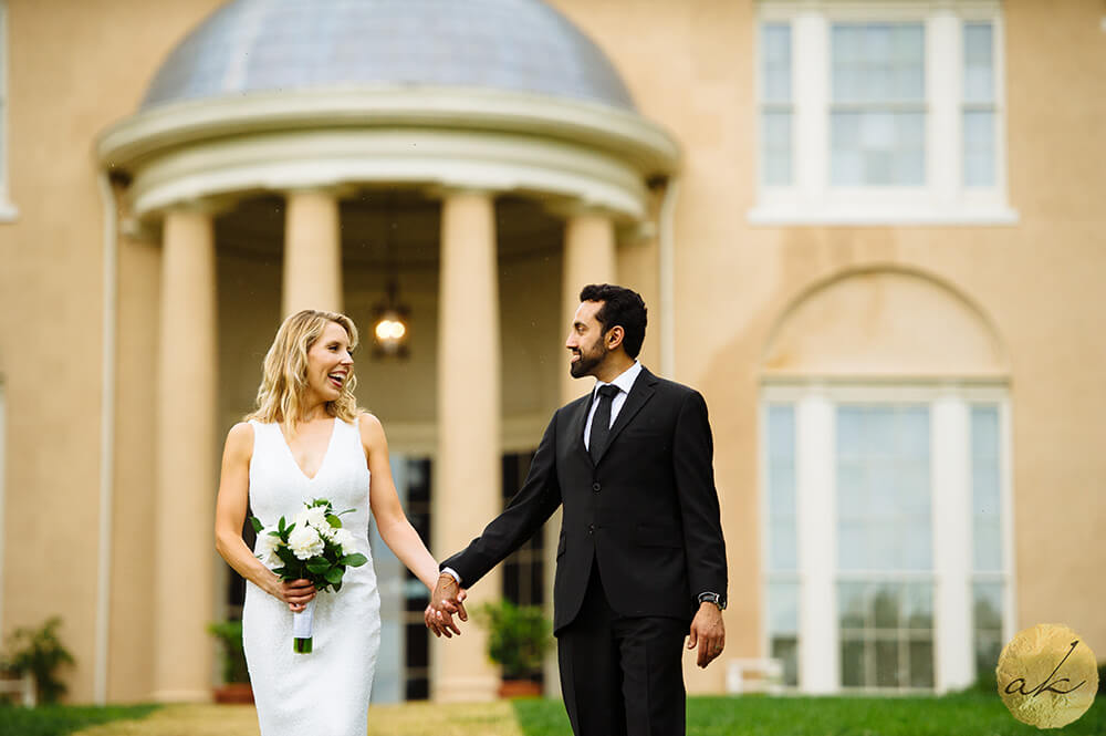 intimate weddings at Tudor Place