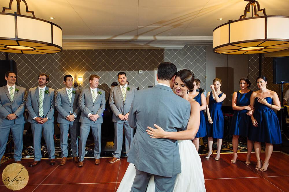 first dance at The Alexandrian wedding