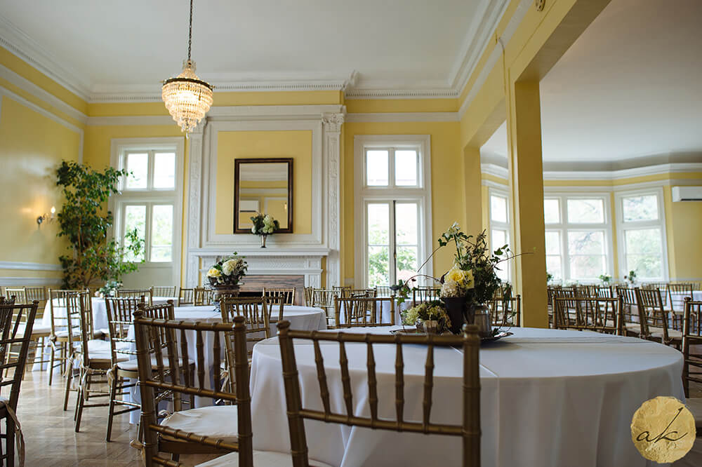 table settings at Josephine Butler Parks Center wedding 56