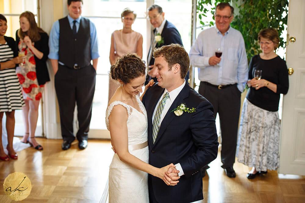 first dance at Josephine Butler parks center wedding 51