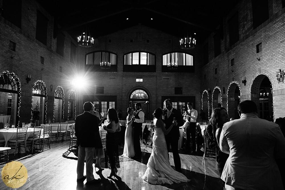 wedding reception at St. Francis Hall 52